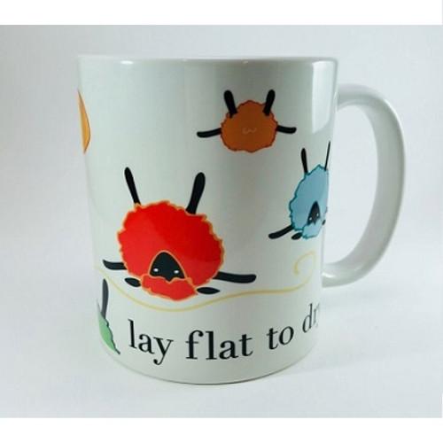 Lay Flat to Dry Color Mug