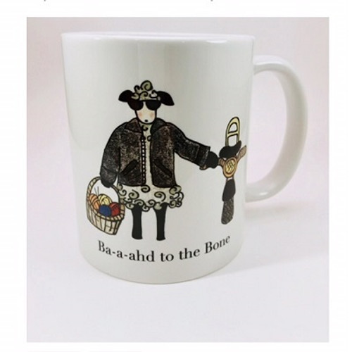 Baaahd to the Bone Color Mug
