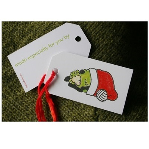 DOZING LAMB Gift Tags