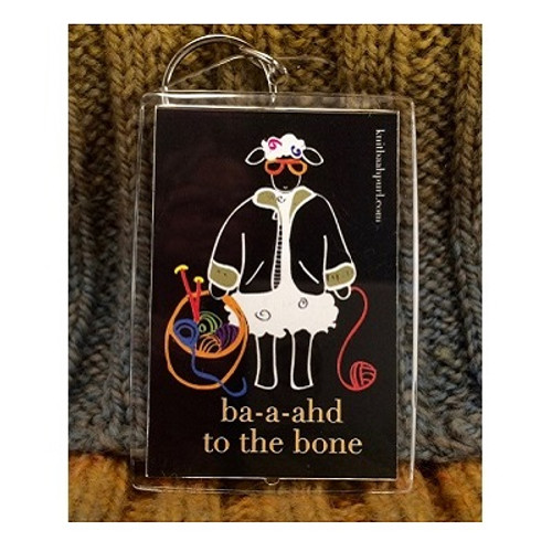 BAAHD to the BONE Key /Baggage Tags