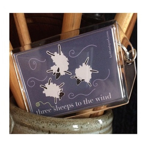 THREE SHEEPS to the WIND Key /Baggage Tags
