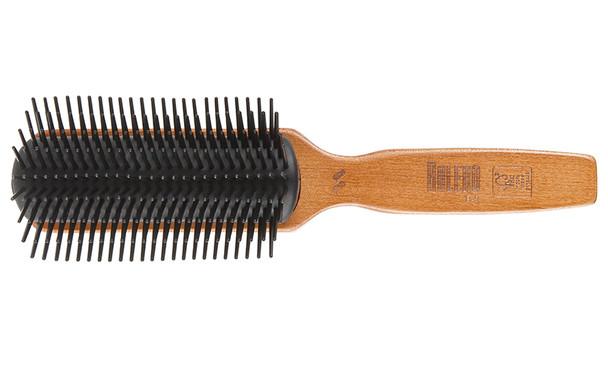 Bolero Flared Bristle  Styler Hair Brush 9 Row