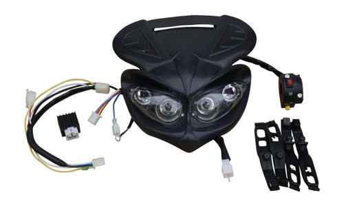 HONDA CRF50 HEADLIGHT KIT V2 WITH OUTER ROTOR IGNITION