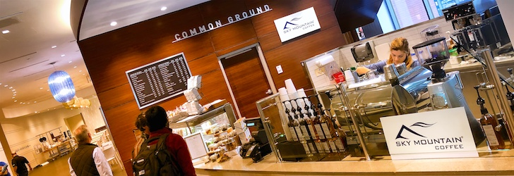 Sky Mountain Coffee at RTI International