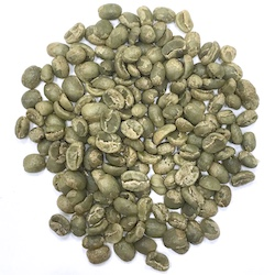 Specialty grade arabica green coffee beans