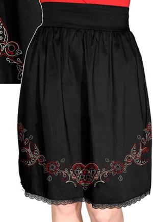 Steady Clothing Stitch N Sparrow High Waist Skirt