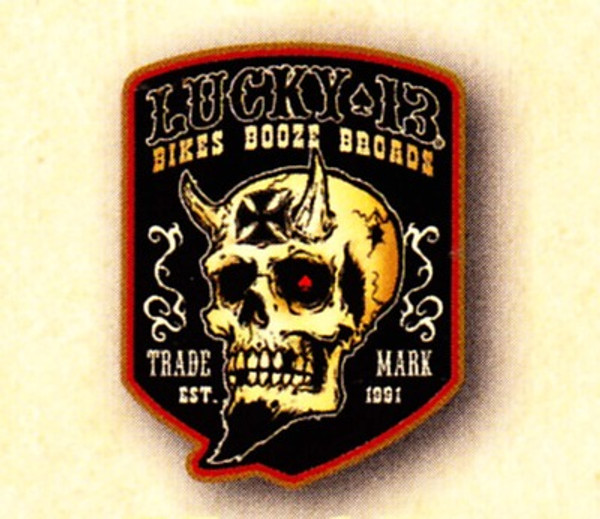 Lucky 13 Booze Bikes and Broads Patch