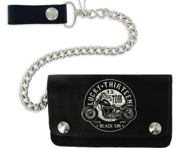 Lucky 13 Black Sin Wallet