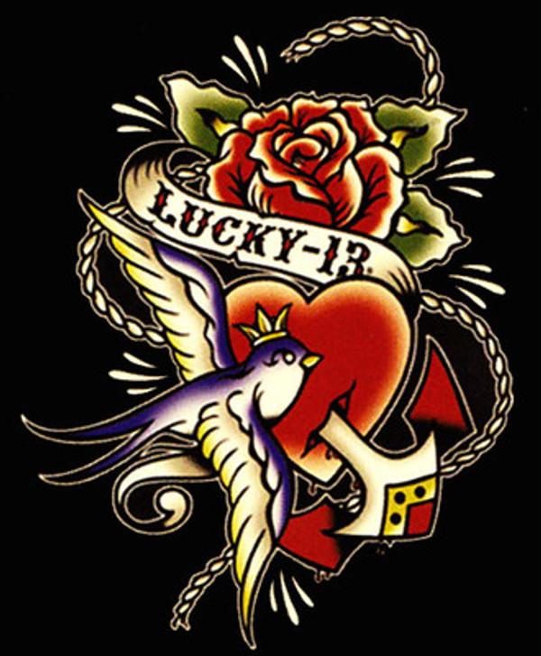 Lucky 13 Blue Sparrow