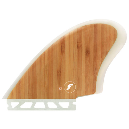 Keel 1 Twin Fin Set | Fibreglass Bamboo | Futures Fins