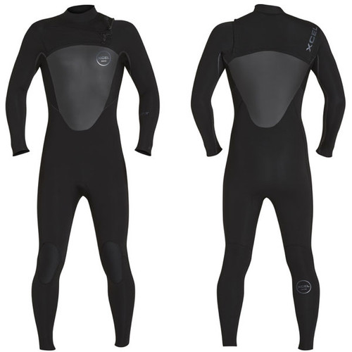 Axis X Steamer 4:3mm | X2 Chest Zip | Black | Xcel Wetsuits