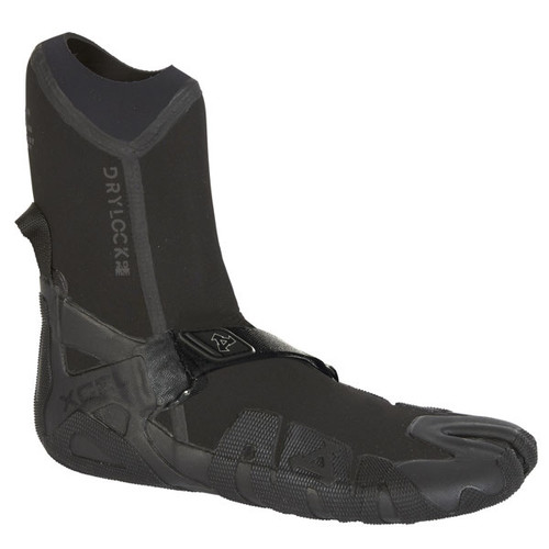 Mens Drylock Split Toe Wetsuit Bootie 3mm | Celliant Black | Black | Xcel Wetsuits