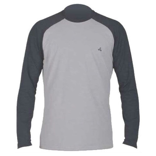 Xcel Ventx Ehukai Long Sleeve UV Surf Tee | Charcoal/Alloy