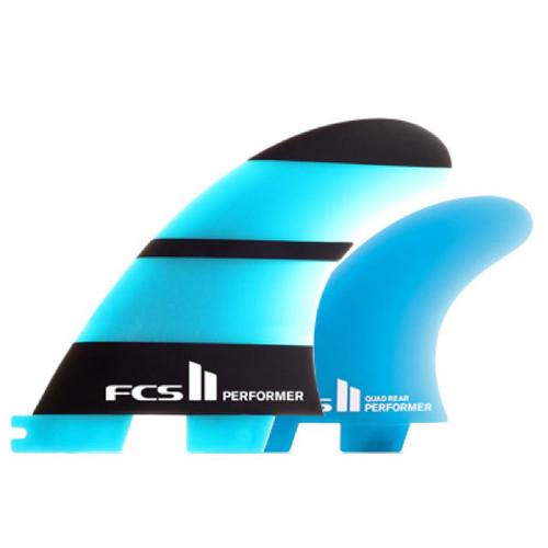 FCS 2 Performer | Tri-Quad Fin Set | Neo Glass