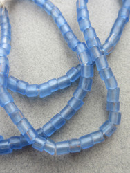 Blue Gooseberry Beads