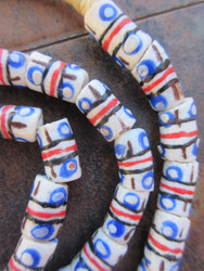 Krobo Glass Beads (9x15mm)