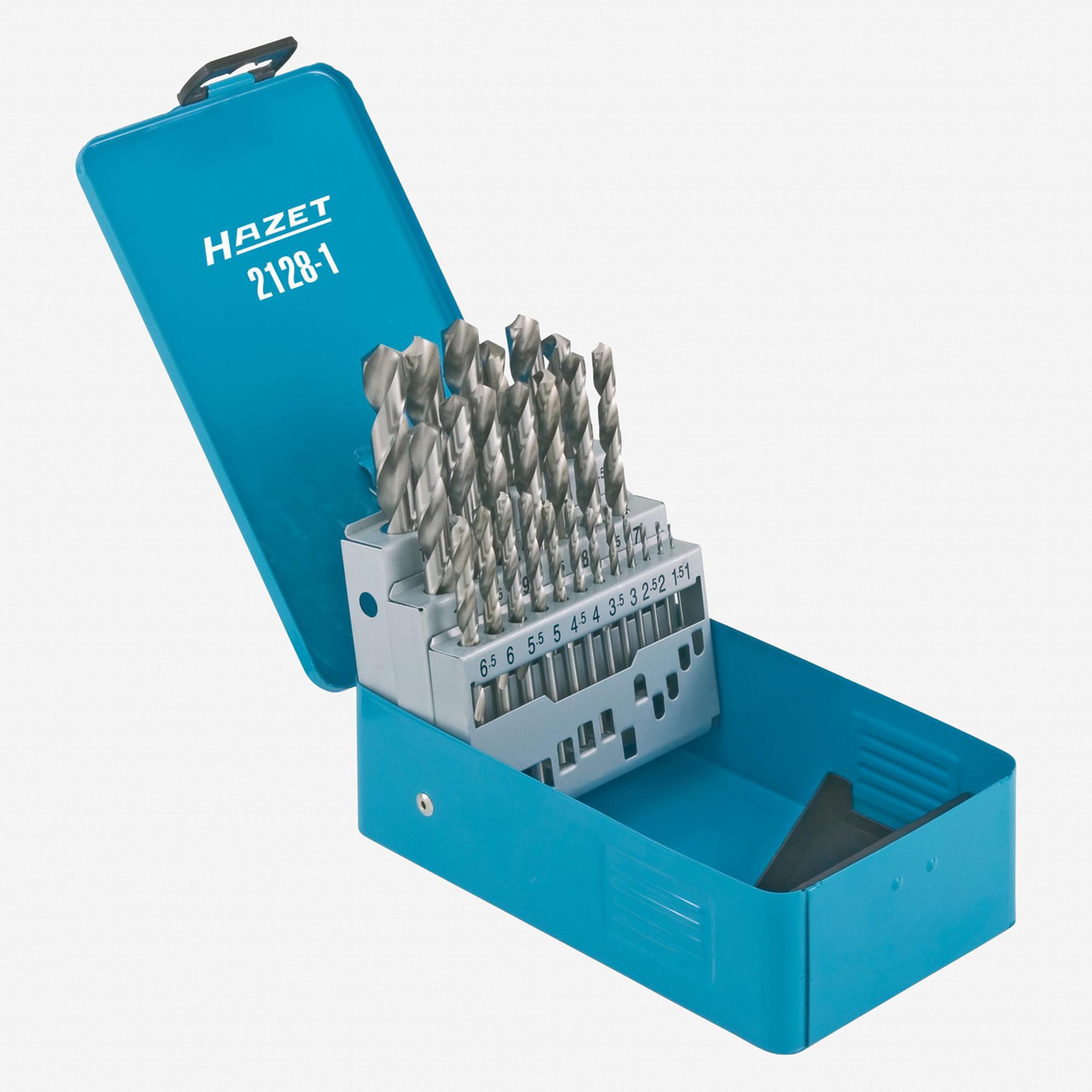 Hazet 2128-1 Twist drill bits in case