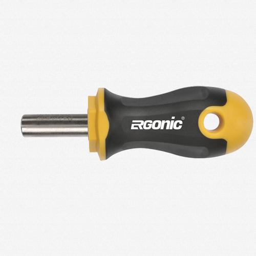 """Felo 61727 Magnetic Ergonic Stubby Bitholder 1/4"""" - KC Tool"""