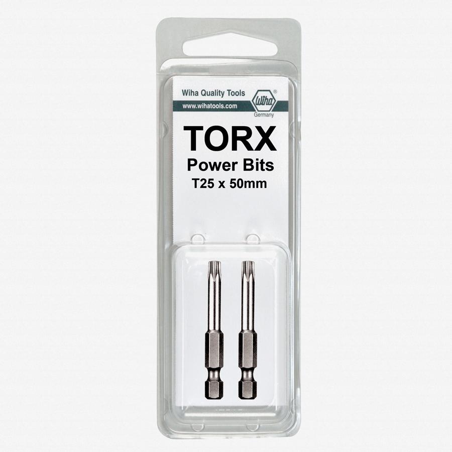 wiha 74540 torx power bit t4 x 50mm 2pk