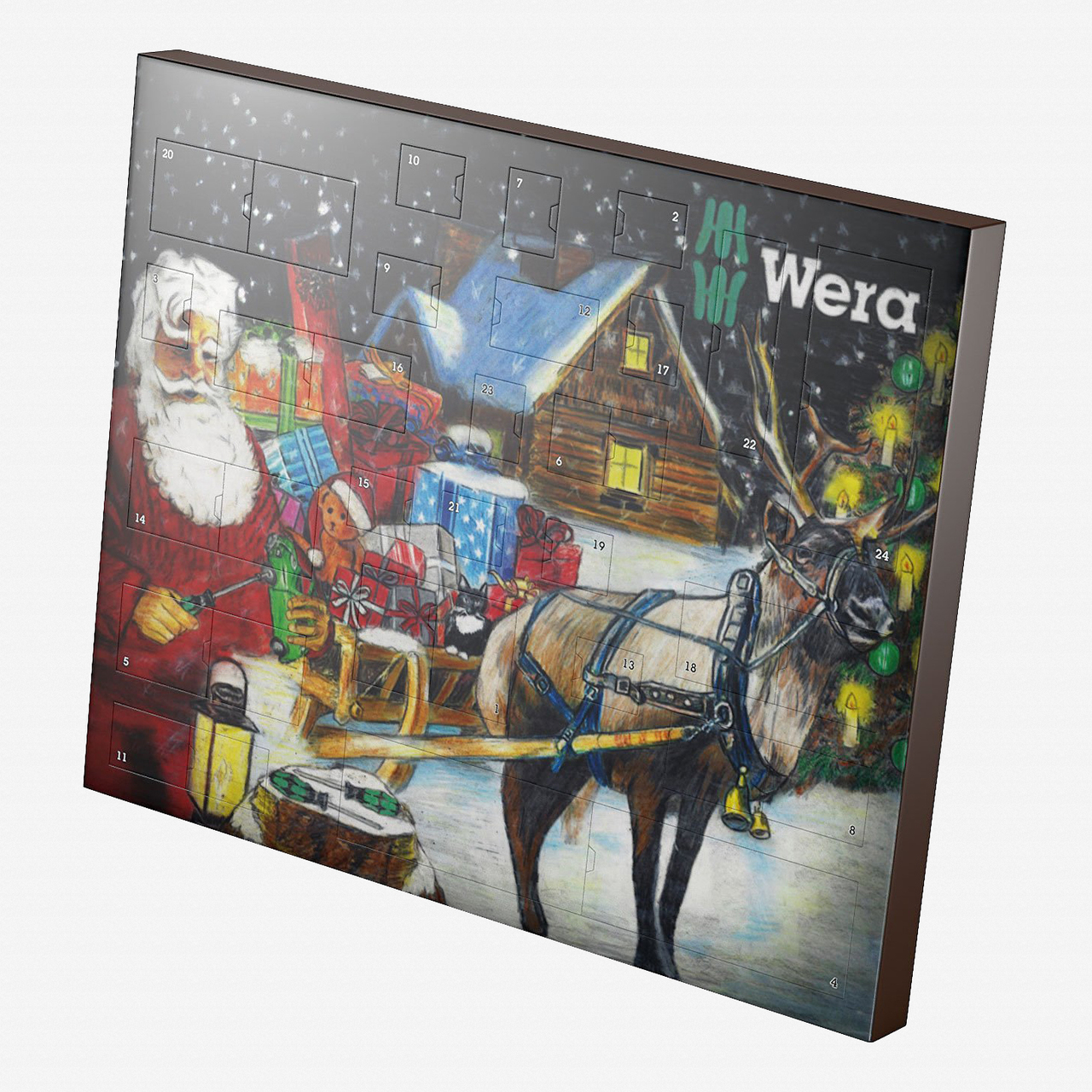 Wera 135997 Advent Calendar 2016 - KC Tool