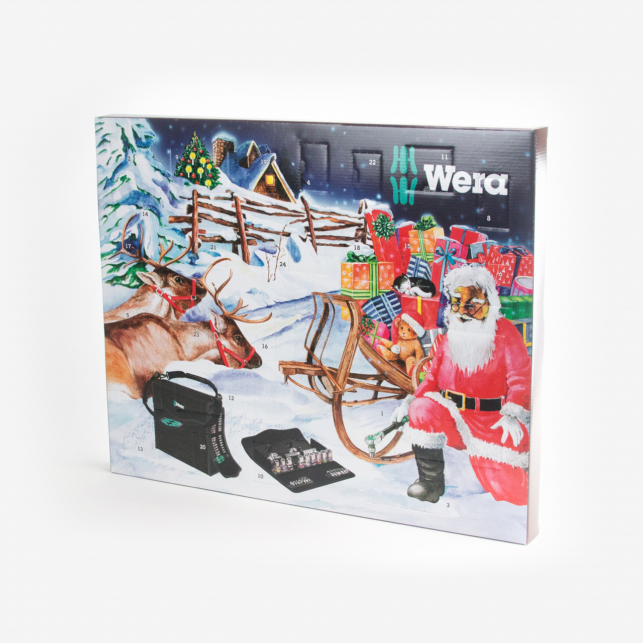 Wera Advent Calendar 2017 - KC Tool