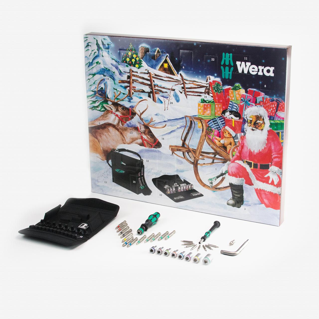 Wera Advent Calendar 2017 - KC Tool