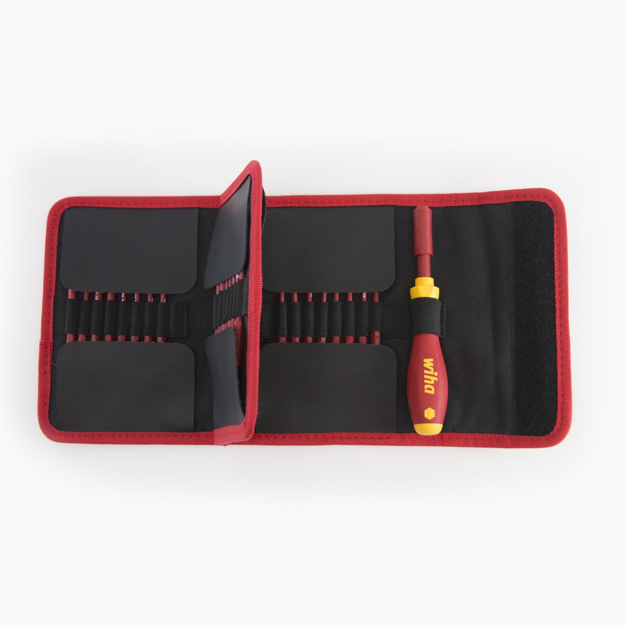 Wiha 28399 30 Piece Insulated SlimLine Blade Pouch Set - KC Tool