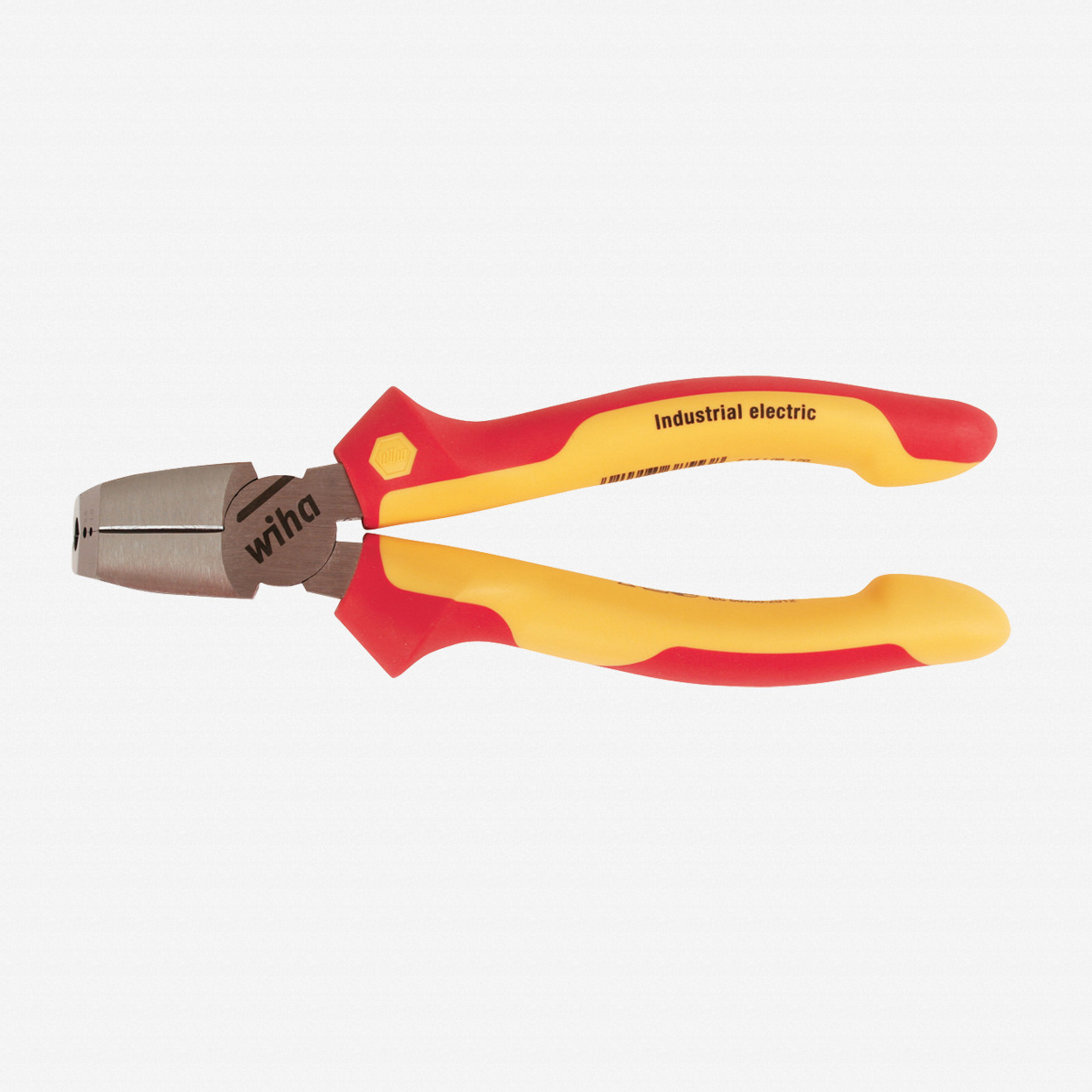 "Wiha 32944 6.7"" Tri-Cut Cable Cutters & Strippers - Insulated - KC Tool"