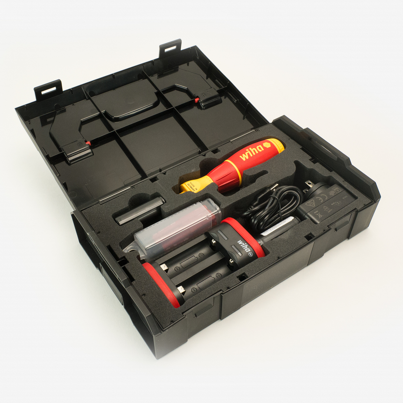 Wiha 32480 speedE Insulated Electric Screwdriver with SlimLine Blades - KC Tool