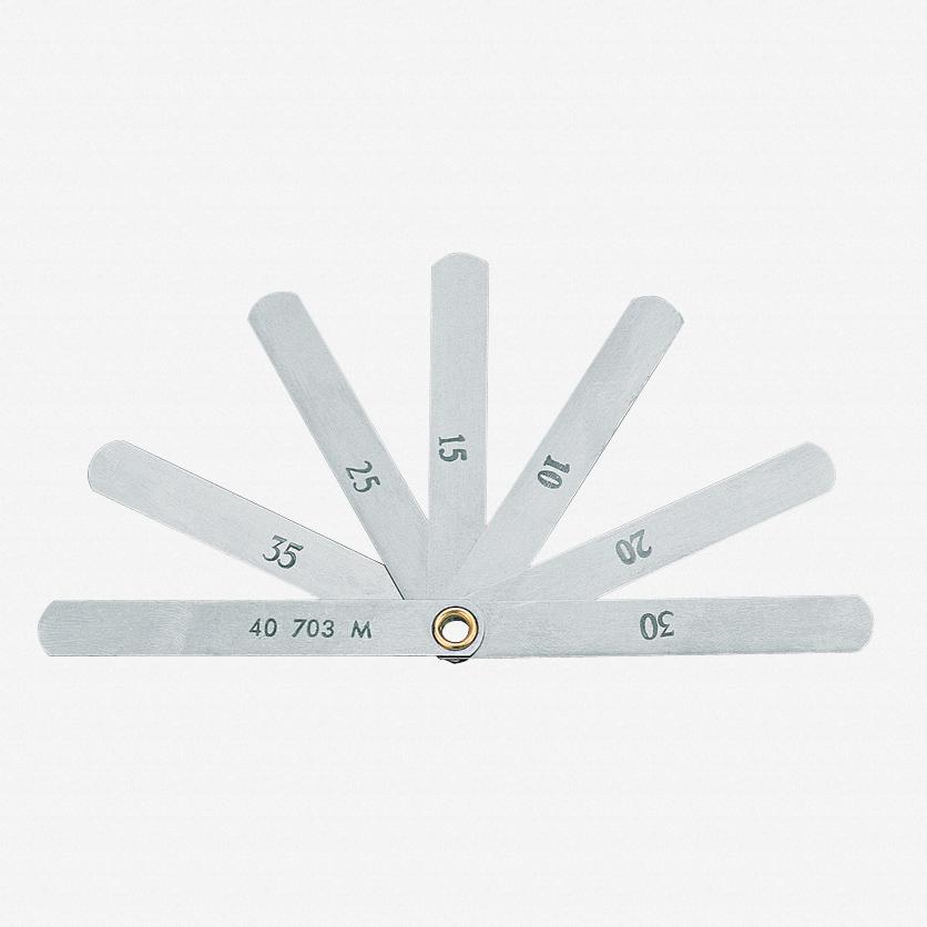 Gedore 703 M Valve feeler gauge 0,1 - 0,4 mm
