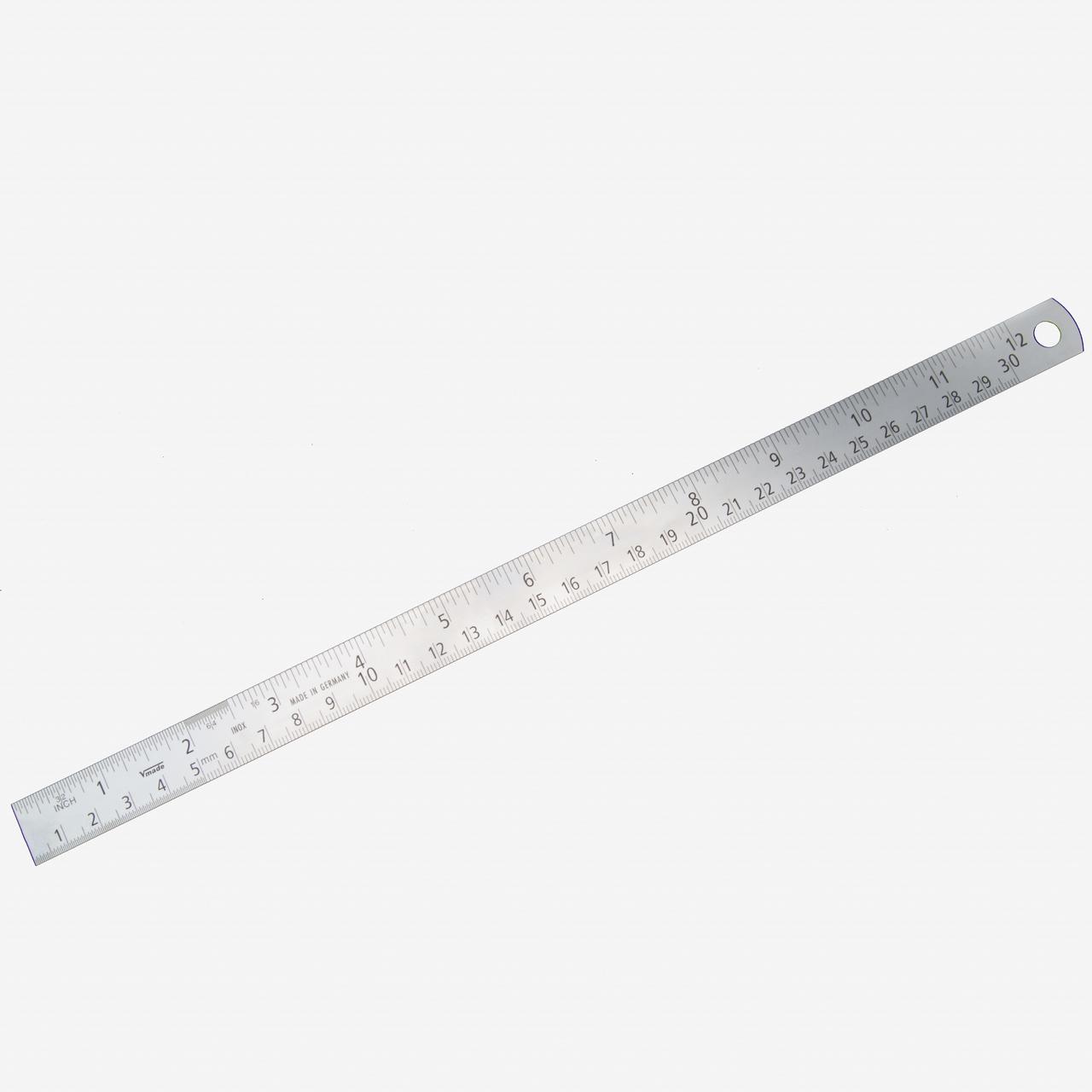 Gedore 717-30 Steel Rule 300mm - KC Tool