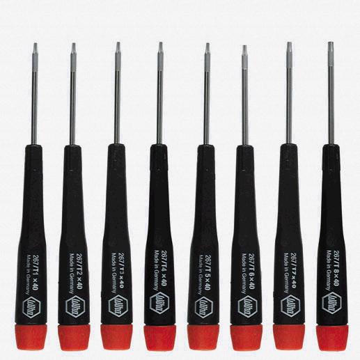 Wiha 26791 8 Piece Precision Torx Screwdriver Set - KC Tool