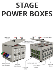 Stage Power Boxes