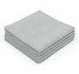 CASE Ice Grey Edgeless 16 x 16 Coating Microfiber Towel 350 GSM (200 Count) (51616-PEARL-EL-GREY-CASE)