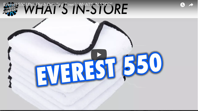 Everest 550 Ultra Plush Detailing Towel | WHAT'S IN-STORE