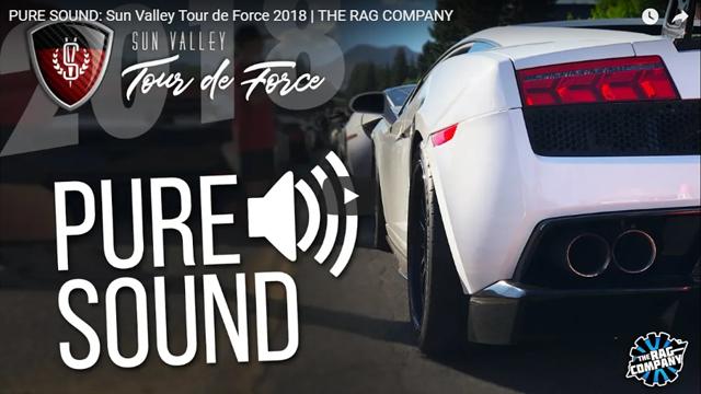 PURE SOUND: Sun Valley Tour de Force 2018   THE RAG COMPANY