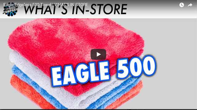 Eagle Edgeless 500 Towel | WHAT'S IN-STORE