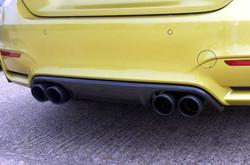 AC Schnitzer Carbon fibre rear diffuser for BMW M4 (F82/F83)