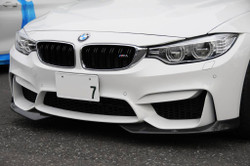 AC Schnitzer Carbon fibre front spoiler elements for BMW M4 (F82/F83)