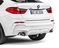 AC Schnitzer Quad sports exhaust for BMW X4 (F26)