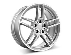 "AC Schnitzer Type VIII silver alloy wheel set in 18 - 20"" for MINI Paceman (R61) 20"" (8.5J front and rear)"