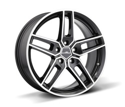 "AC Schnitzer Type VIII black alloy wheel set in 18, 19 or 20"" for MINI Paceman (R61) 19"" (8.5J front and rear)"