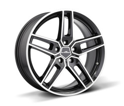 "AC Schnitzer Type VIII black alloy wheel set in 18, 19 or 20"" for MINI Paceman (R61) 20"" (8.5J front and rear)"