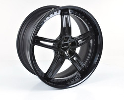 "AC Schnitzer AC1 multipiece 22"" black alloy wheel sets for BMW X6 (F16)"