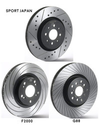Front Tarox Brake Discs - 1 Series (E87) 120i 300mm