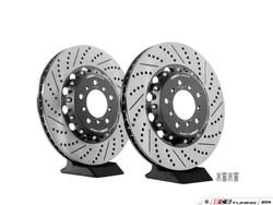 ECS Tuning 2-Piece Lightweight Front Brake Rotors - Pair (345x28) - M3 E46 / Z4 M