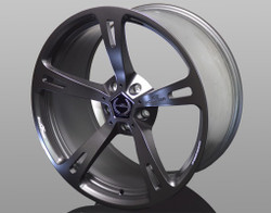 "AC Schnitzer Type V Forged alloy wheel sets 22"" staggered anthracite X5 E70"