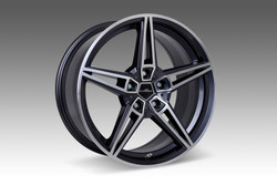 "AC Schnitzer AC1 bi-colour alloy wheel sets BMW X6 (F16) 22"" wider rear"
