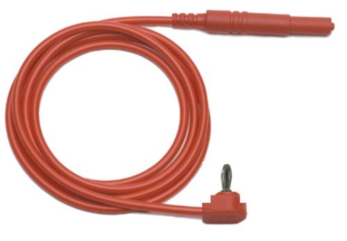 2mm Banana Plug to Retractable 4mm Banana Plug