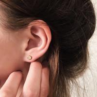 14k Love Earrings